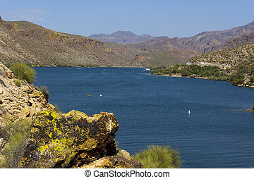 Cañón,  arizona, lago