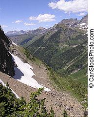 cañón, glaciares