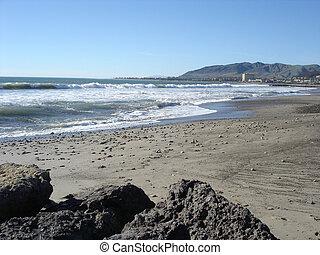 ca, oxnard, plage