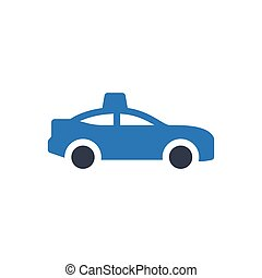 cab  glyph color icon