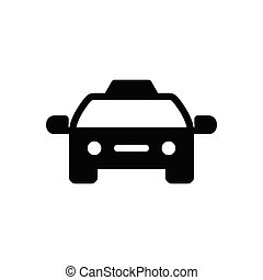 cab  glyph flatt icon