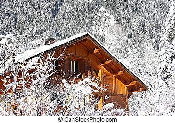 cabaña, alpino