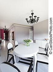 cabaña, vibrante, moderno,  -, muebles