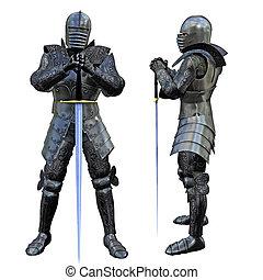 caballero, espadachín