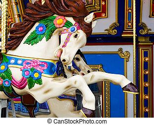 caballo, carrusel