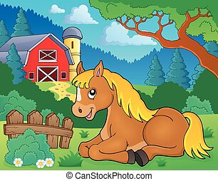 caballo, topic, imagen, 2