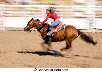 caballo, velocidad
