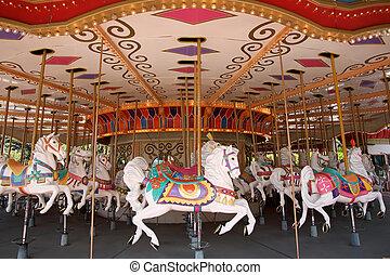 caballos, carrusel