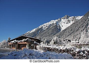 cabana, alpino