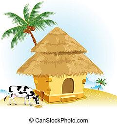 cabana, vaca
