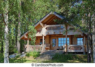 cabana, verão