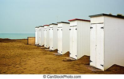 cabanas, plage
