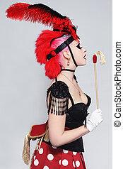 Cabaret horse
