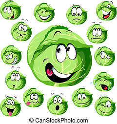 cabbage cartoon