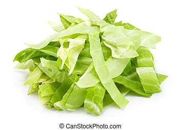 Cabbage chopped slice