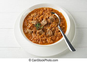 Cabbage stew- goulash