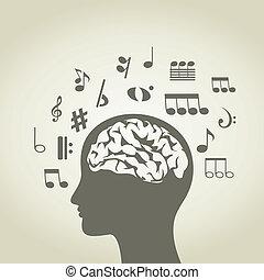 cabeça, musical