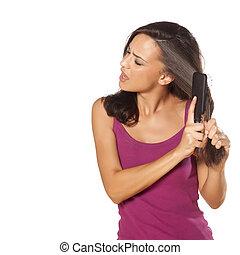 cabelo, problemas