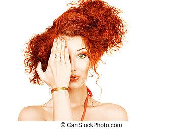 cabelo, salão beleza