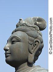 cabeza, buddha