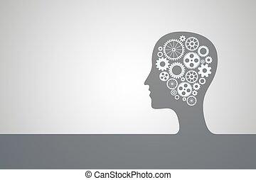cabeza, humano, bl