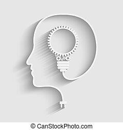 cabeza, humano