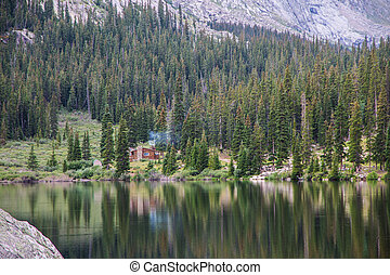 Cabin by the Lake in the Forest - Can you imagine coming to ...