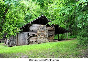 Cabin in Boxley Valley