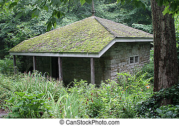 Cabin In Woods - an old, 18th century stone cabin in the...