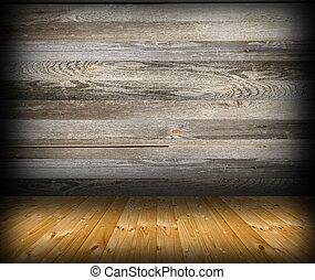 cabin interior abstract backdrop with wood finishing