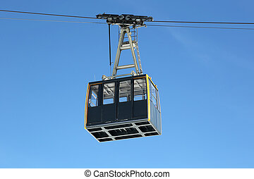 Cabin of a cable car