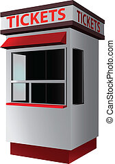 cabina de boleto
