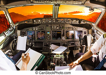 Cabina de piloto, ocaso
