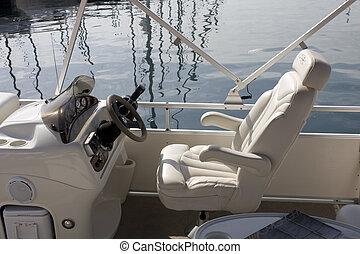 cabina piloto, bote