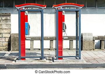 cabina telefônica