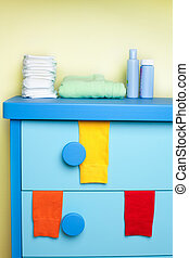 cabinet in nursery room