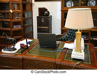 cabinet, intérieur