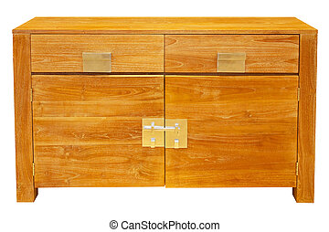 Cabinet isolated