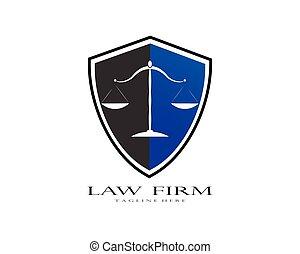 cabinet juridique, logo, vecteur