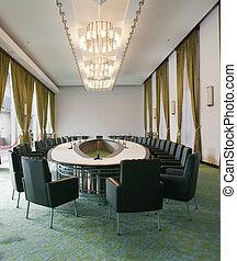 Cabinet meeting room