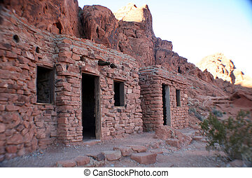 cabins in Nevada - cabins at the valley of fire in Nevada