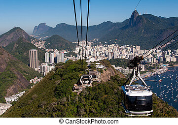 Cable Car ofthe Sugarloaf Mountain