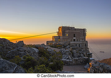 Cable Car Station At Top of Table Mountain 2 - Cable Car...