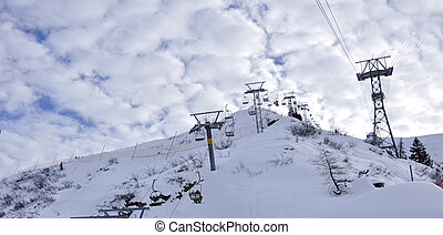cable cart of titlis