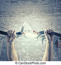 cable de energía eléctrica