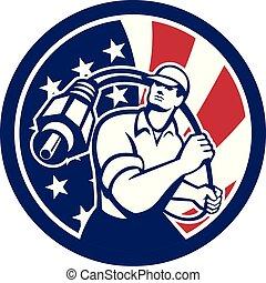 cable-guy-rca-plug CIRC USA-FLAG-ICON - Icon retro style ...