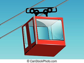 cable lift car
