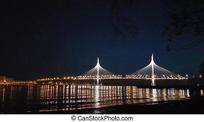 Cable-stayed bridge of Western high-speed diameter -...