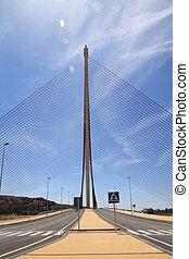 Cable-stayed bridge Talavera de la Reina, Spain
