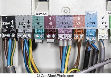cables, conectado